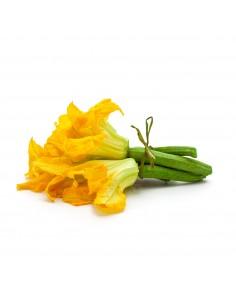 Zucchine con fiore, Italia